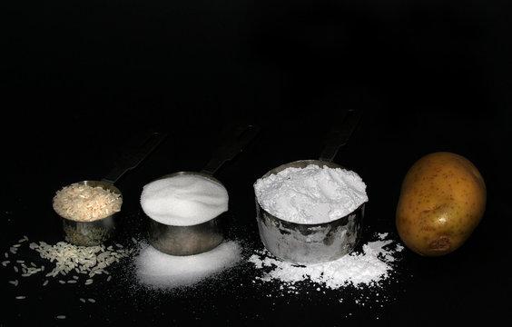 White death--rice,sugar,flour,potato