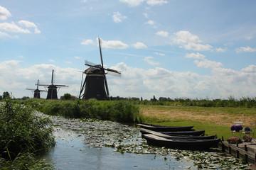 Aluminium Prints Mills Windmill in the Hague