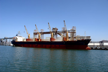 bulk grain carrier