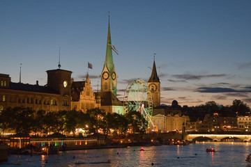 Night in Zurich