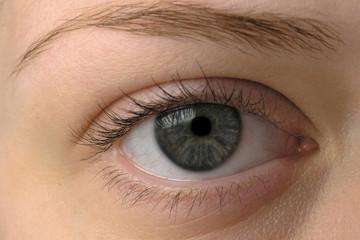 Weibliches Auge