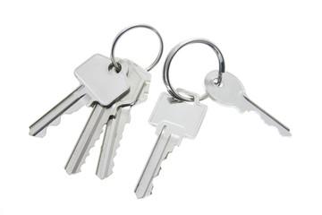 Keys with Key Rings