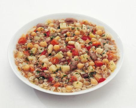 Zuppa di legumi