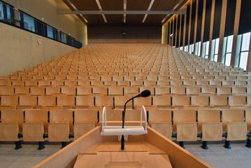 Vorlesungsraum in Universität