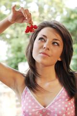Cherry woman