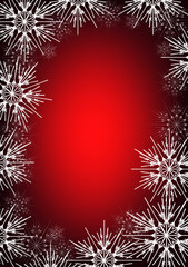 Christmas  and New  Year background Gothic style