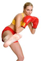 Kick Boxer Woman