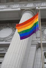 LGBT pride flag