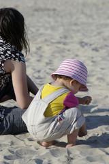 découverte du sable