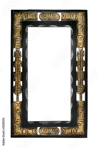 cadre africain photo libre de droits sur la banque d 39 images image 8589215. Black Bedroom Furniture Sets. Home Design Ideas