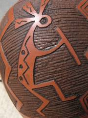 Kokopelli, Navajo Indian Art