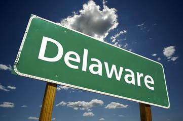 Delaware Road Sign