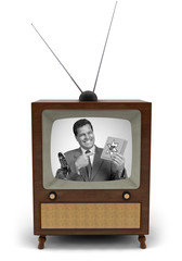 50's TV commercial