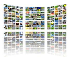huge multimedia panel