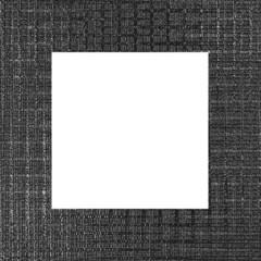 Gray Weave Frame