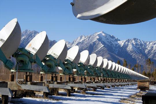 Solar radio telescope