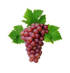Pink grape cluster