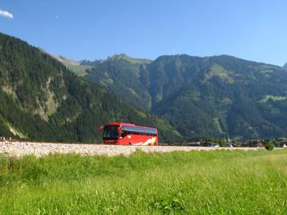 Busreise in die Berge