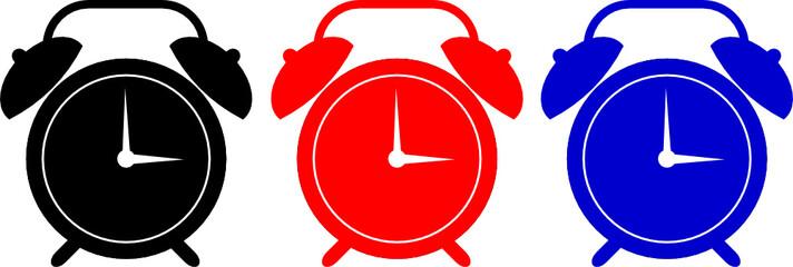 Alarm clock symbol
