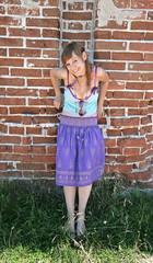 the hippy girl
