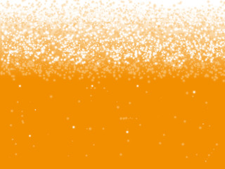 Beer bubble background