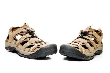 Man shoes, isolated
