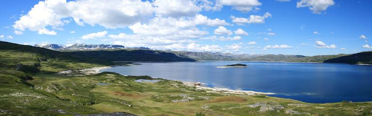 Stausee Susenvatnet in Norwegen