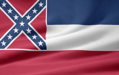 Mississippi Flagge