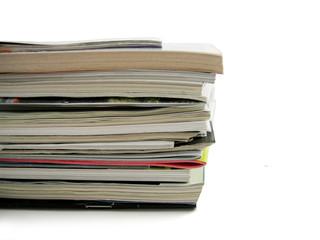 Pile magazines