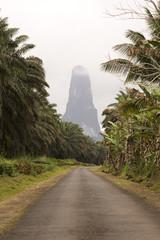 Sao Tome big rock