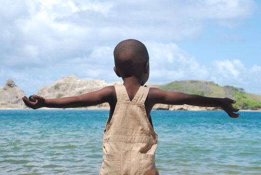 enfant plage 6