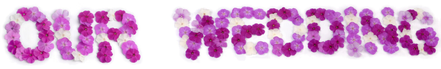 Floral inscription