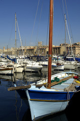 France, Provence, Marseille, Vieux-Port