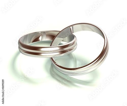 Ringe 07 - Verbunden - Hochzeit - Silber