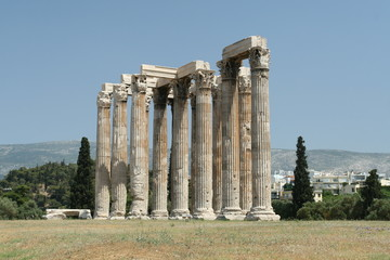 The Ancient Ruins of Athens