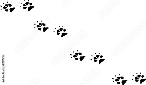 pas de chien fichier vectoriel libre de droits sur la banque d 39 images image 8707436. Black Bedroom Furniture Sets. Home Design Ideas