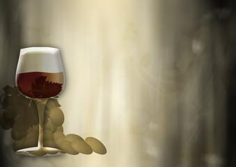 sfondo vino grunge