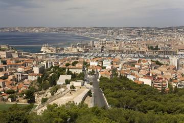 Marseille, vue générale