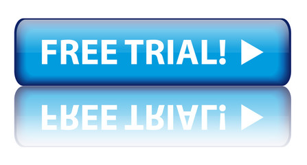 """Free Trial!"" button (with reflection)"