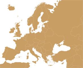 Europakarte_politisch