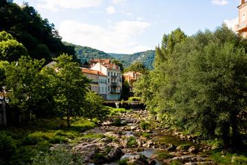 La Volane à Vals-Les-Bains (Ardèche)