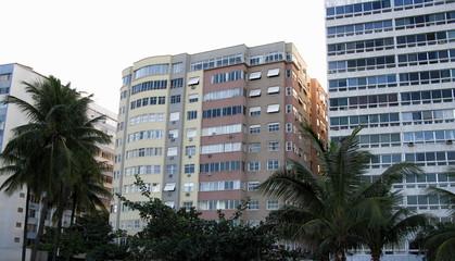 Immeubles, Copacabana, Rio, Brésil.