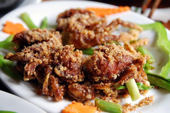 softshell crab in hanoi