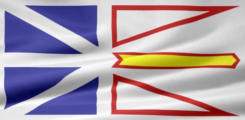 Neufundland und Labrador Flagge