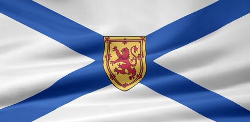 Nova Scotia Flagge