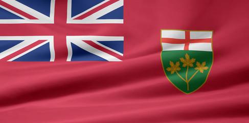 Ontario Flagge