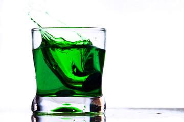 coctail drink splash
