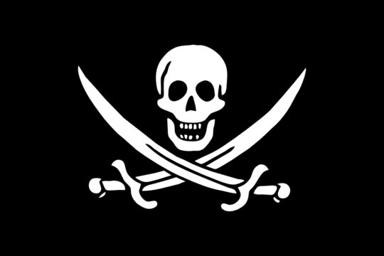 piratenfahne I