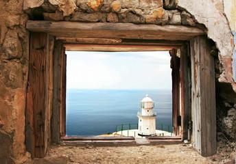 Lighthouse for grange frame