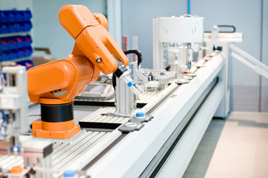 A computer controlled automated manufacturing process